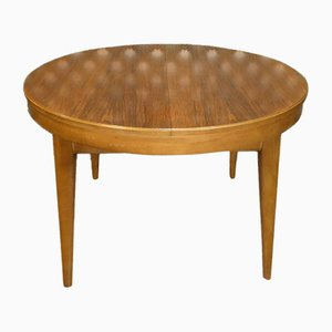 Round Adjustable Coffee Table from Hall Tische, 1960s