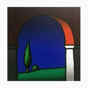 Tino Stefanoni: Red Bow, Color Silkscreen