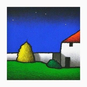Tino Stefanoni: Court, Color Silkscreen