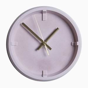 Horloge Index Rose par Room-9, 2019