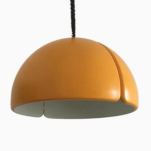 Vintage Swiss Space Age Pendant Lamp from Temde