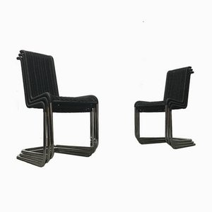 Mid-Century German B20 Cantilever Dining Chairs from Tecta, Set of 6