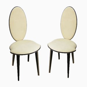 Mid-Century Dining Chairs by Umberto Mascagni for Harrods, 1950s, Set of 2