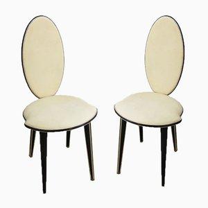Mid-Century Esszimmerstühle von Umberto Mascagni für Harrods, 1950er, 2er Set