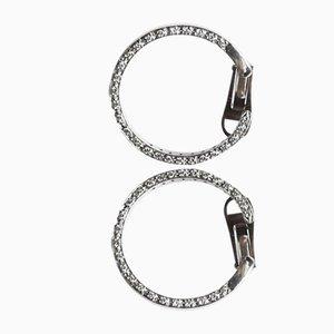 Diamond Hoops, Set of 2
