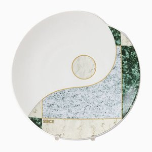 Postmodern Porcelain Plate by Rudolf Pastor for Hutschenreuther, 1980s