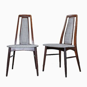 Rosewood Dining Chairs by Niels Koefoed for Koefoeds Møbelfabrik, 1960s, Set of 6