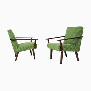 Armchairs, Czechoslovakia, Set of 2