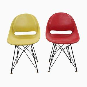 Chairs by Miroslav Navratil for Vertex, 1960s, Set of 2