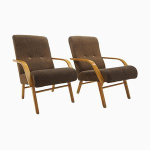 Armchairs, Czechoslovakia, 1960s, Set of 2