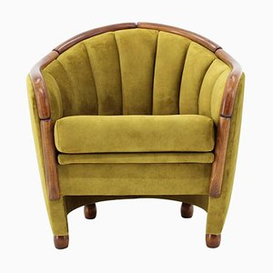 Armchair in the Style of Gio Ponti, Italy, 1950s