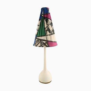 Tischlampe mit Buntem Schirm von Hans-Agne Jakobsson für A / B Markaryd, 1960er