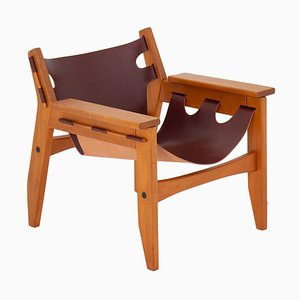 Mid-Century Brazilian Kilin Lounge Chair by Sergio Rodrigues