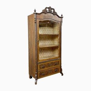 Small Antique Biedermeier Display Cabinet