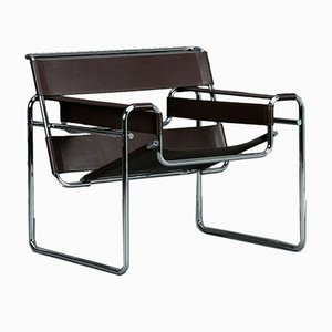 Wassily B3 Bauhaus Chair by Marcel Breuer for Gavina