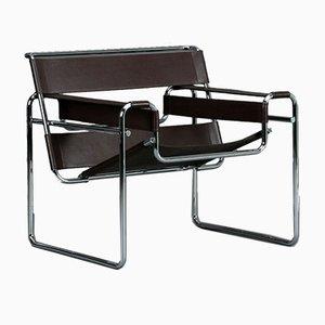 Wassily B3 Bauhaus Stuhl von Marcel Breuer für Gavina