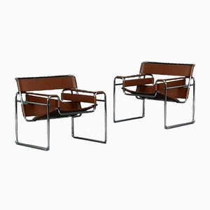 Wassily B3 Bauhaus Chair by Marcel Breuer for Knoll