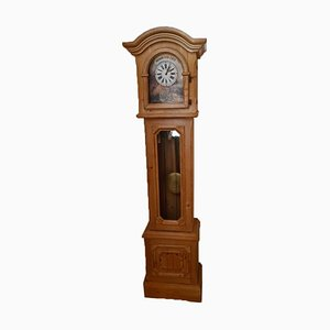 Country Style Solid Wood Grandfather Clock by Will Voglauer