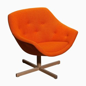 Mandarini Swivel Armchair by Carl Gustaf Hiort and Nanna Ditzel, 1960s