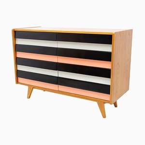 Mid-Century Modernist No. U-453 Chest of Drawers by Jiří Jiroutek