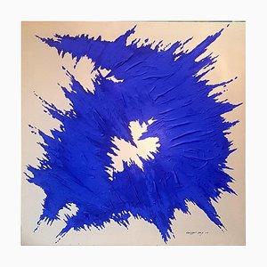 Patrick Coussot Beix, Bleu Voltage K, 2021