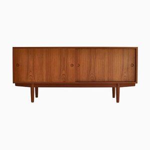 Teak Sideboard by Hans J. Wegner for Johannes Hansen, 1960s