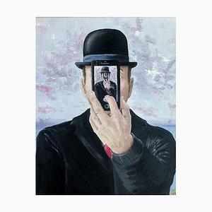 Emphi, Son of Apple, Oil Paint, 2015