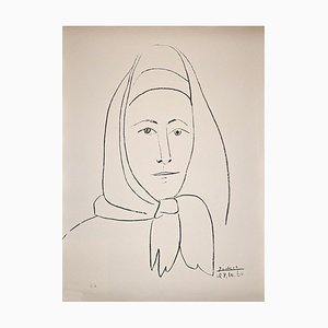 Lithographie Pablo Picasso, The Spanish, 1960
