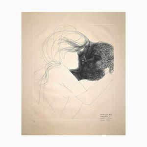 Emilio Greek, Farewell Not. 15, incisione, 1973
