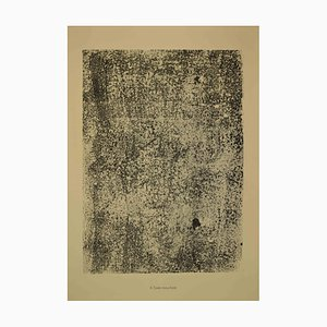 Jean Dubuffet, Text Speckled, Lithograph, 1959