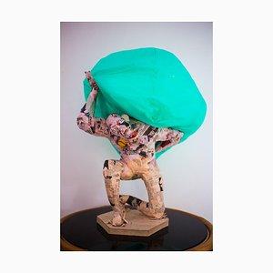 Anf ÷ i, Atlas, Skulptur von Emphi, 2020