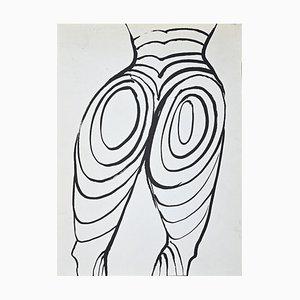 Alexander Calder, Composition, Lithographie, 1968
