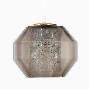 Lámpara colgante de Carl Fagerlund para Orrefors, años 60