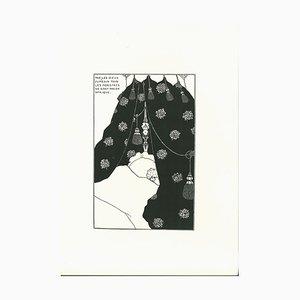 Aubrey Vincent Beardsley, Billet-Doux The Incomunicabilité, Lithographie, 1970