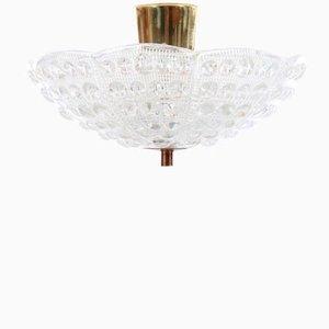 Lámpara de techo Mid-Century de Carl Fagerlund para Offefors, años 60