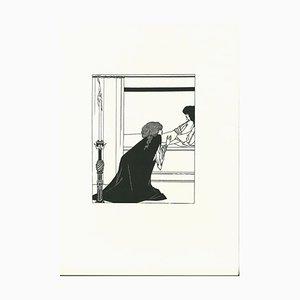 Aubrey Vincent Beardsley, L'Amour, Lithographie, 1970er