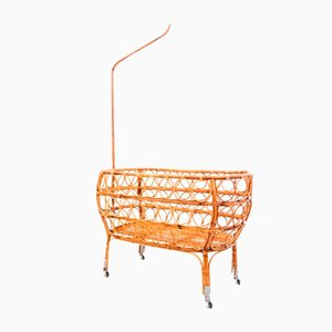 Cradle in Bamboo, Italy, 1950s
