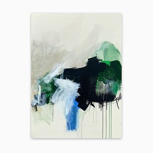 Dichotomy of Time 2, Abstract Painting, 2021