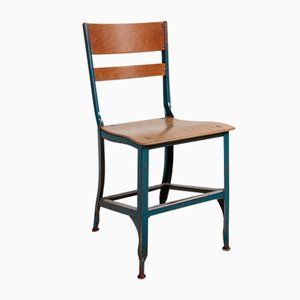 Metal Dining Chair from Toledo, 1940s