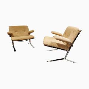 Joker Armchairs by Olivier Mourgue, 1970s, Set of 2