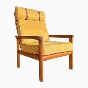 Teak Lounge Chair by Sven Ellekaer for Komfort, Denmark, 1960s