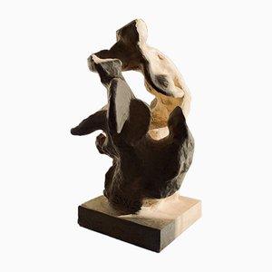 Sculpture Biomorphique en Céramique