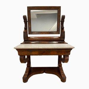Französischer Empire Stil Mahagoni & Marmor Konsolentisch von Maple & Co.