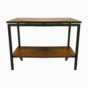 Chariot ou Table Basse Mid-Century