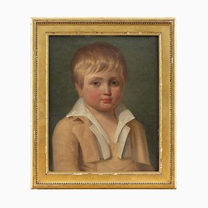 19th-Century French School, Portrait of a Boy