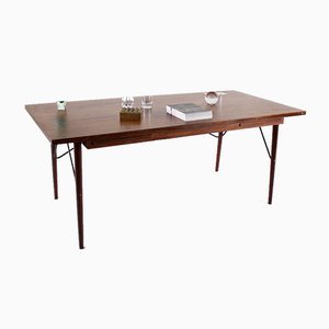 Danish Office Work Table in Rosewood from NIPU