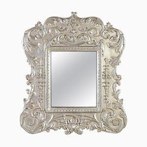 Neoclassical Regency Empire Style Bath Wood Mirror, 1970s