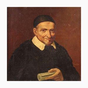 Retrato de un fraile, siglo XIX