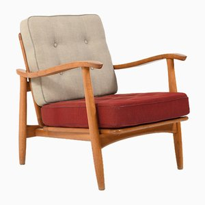 Model No.71 Lounge Chair by Erik Kirkegaard for Magnus Olesen, 1950s