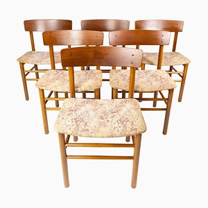Dining Room Chairs, 1960s, Set of 6